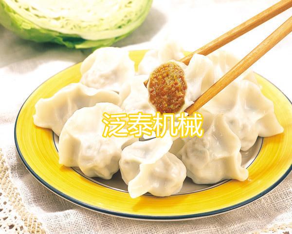 动物形状的饺子